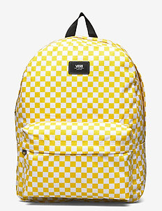 OLD SKOOL III BACKPACK - unisex - sulphur/white check
