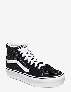 UA SK8-Hi Platform 2.0 - höga sneakers - black/true white