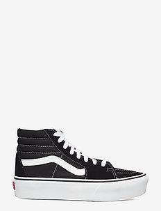 UA SK8-Hi Platform 2.0 - chunky sneakers - black/true white