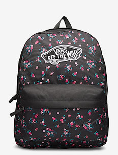 REALM BACKPACK - träningsväskor - beauty floral black