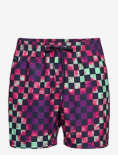 MIXED VOLLEY - swim shorts - tie dye check