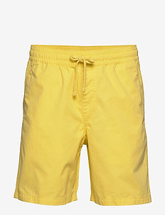 RANGE SHORT 18 - casual shorts - yellow cream