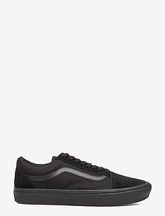 UA ComfyCush Old Skool - laag sneakers - (classic) black/black