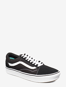 UA ComfyCush Old Skool - laag sneakers - (classic) black/true whit