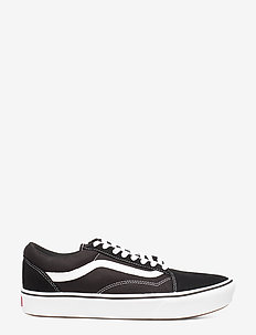 UA ComfyCush Old Skool - laag sneakers - (classic) black/true whit