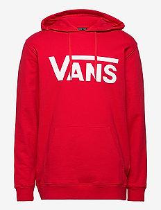 VANS CLASSIC PO HOODIE II - sweats basiques - high risk red