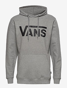 VANS CLASSIC PO HOODIE II - hoodies - cement heather/black