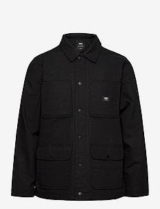 DRILL CHORE COAT LINED - vestes de sport - black