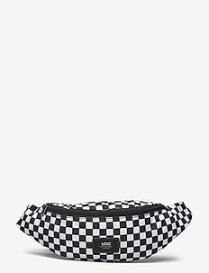 MINI WARD CROSS BODY - magväskor - black/white check