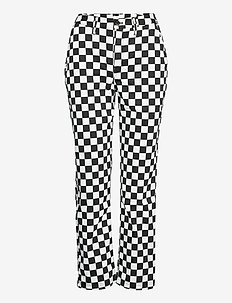 AUTHENTIC CHINO PRINT WMN - sportbyxor - checkerboard