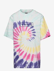 TIE DYE EASY BOX TEE BOYS - korte mouwen - rainbow (spectrum)tie dye