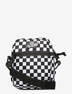 STREET READY II CROSSBODY - tassen - black/white checkerboard