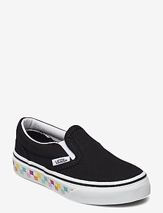 UY Classic Slip-On - lave sneakers - (checkerboard)rainbow/blk