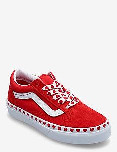 UY Old Skool - laag sneakers - (heartfxg)fchsprphghrskrd