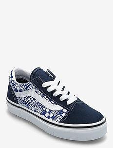 UY Old Skool - lage sneakers - (off the wall)drsblstrwht