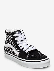 UY SK8-Hi - sneakers - (logo repeat)blk/true wht
