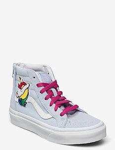 UY SK8-Hi Zip - hoog sneakers - (sequin patch)blldbltrwht