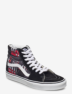 UA SK8-Hi - höga sneakers - (packing tape)blkredtrwht