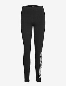 CHALKBOARD FAIR WELL LEGGING - tights & shorts - black