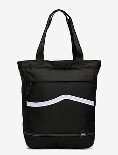 CONSTRUCT TOTE - shoppers - black/white