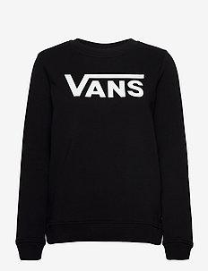 CLASSIC V CREW - sweatshirts - black