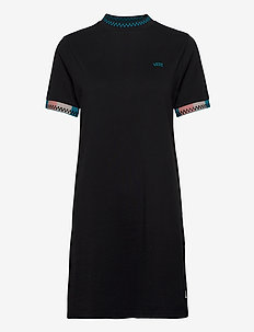 HI ROLLER TRI CHECK DRESS - sportklänningar - black
