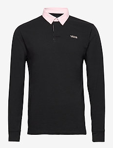 SIXTY SIXERS RUGBY POLO - polos - black