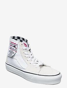 UA SK8-Hi Tapered - sneakers med høy ankel - (diy) white/true white