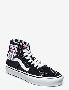 UA SK8-Hi Tapered - sneakers med høy ankel - (diy) black/true white