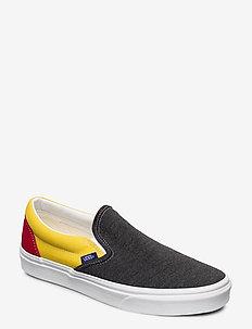 UA Classic Slip-On - slipper - (vans coastal) blk/tr wht