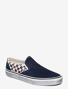 UA Classic Slip-On - slip-ons - (washed)drsbls/chl pepper