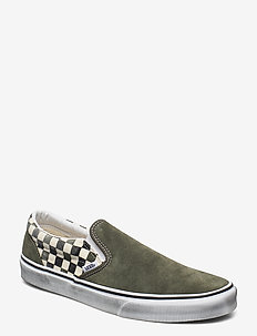 UA Classic Slip-On - lave sneakers - (washed) grape leaf/black