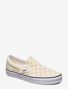 UA Classic Slip-On - slip-ons - (checkerboard)clscwhttrwt
