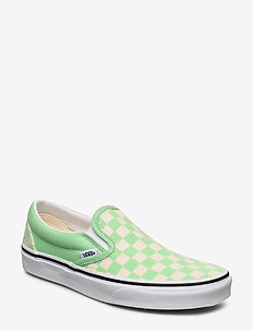 UA Classic Slip-On - low tops - (checkerboard)gr ashtrwht
