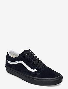 UA Old Skool - laag sneakers - (pig suede) black/black