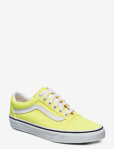 UA Old Skool - lave sneakers - (neon) lemon tonic/tr wht