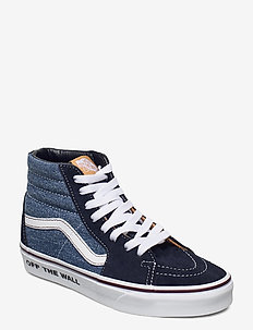 UA SK8-Hi - höga sneakers - denim/total eclipse/trwht