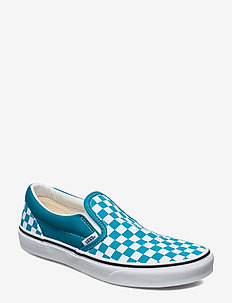 JN Classic Slip-On - (CHECKERBOARD)CRBNSEATRWT