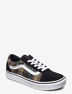 JN ComfyCush Old Skool - sneakers - (woodland camo)blk/tr wht