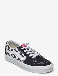 UA SK8-Low - lave sneakers - (canvas/suede)blkchckrbrd