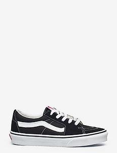UA SK8-Low - laag sneakers - black/true white