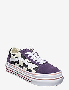 UA Super ComfyCush Old Skool - sneakers med lav ankel - (suede/canvas)prpvlvclswt