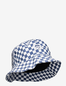 VANS X PENN BUCKET - bucket hats - (penn) true navy chckrbrd
