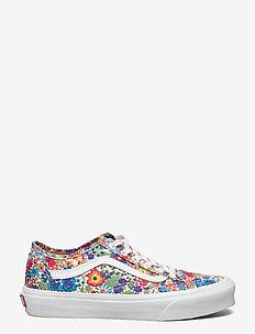 UA Old Skool Tapered - lage sneakers - (libertyfabrcs)mltylwflrl