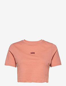 FLYING V CROP CREW SPORT - crop tops - rose dawn