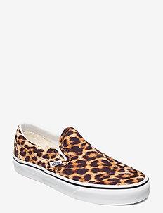 UA Classic Slip-On - slip-on sneakers - (leopard) black/truewhite