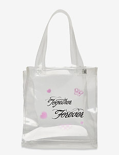 TOGETHER FOREVER MINI TOTE - tassen - clear