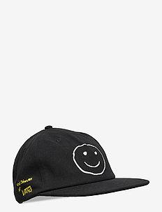 VANS X CJ SHALLOW UNSTRUCTURED - flat caps - vintage black