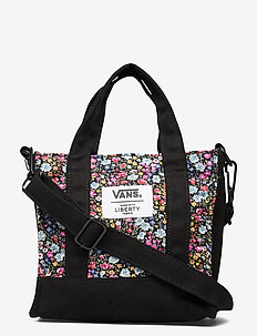 Bags Womens One - tote bags - (liberty fabric) black