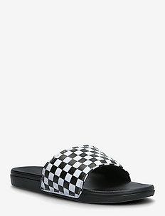 MN La Costa Slide-On - rantasandaalit - (checkerboard) truwht/blk